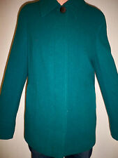 Ladies Teal Green Wool Rich Coat / Jacket  sizes 8 - 10 -14 - 16-18 - 22    new