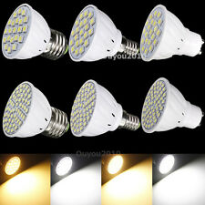 E27/GU10/E14 21/60 LED 3528 5050 SMD Pure/Warm White Light Bulb Lamp 110V/220V