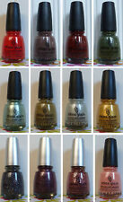 ONE NEW CHINA GLAZE NAIL LACQUER POLISH - YOU PICK!