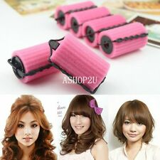 Magic Foam Rollers Sponge Hair Styling Soft Curler Curlers Twist DIY Tool Set
