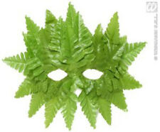 Green Leafy Eye mask Nature Tree Adam Eve Masquerade Camouflage Disguise