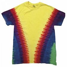 (Free PnP) Colortone Childrens/Kids Unisex Heavyweight Colourful Tie Dye T-Shirt