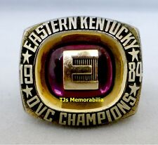 1984 EASTERN KENTUCKY COLONELS OHIO VALLEY CONFERENCE CHAMPIONSHIP RING PLAYER