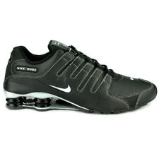 Nike shox nz black/metallic silver men\u0026#39;s running training shoes size 8