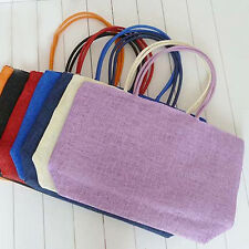 Charming Ms. Straw Cane Plaited Beach Bag Multi-color Women's Fashion Accessory