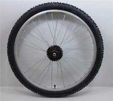 "26 "" Alloy REAR Mountain Bike Wheel & 6 SPEED SHIMANO FREEWHEEL + TYRE & TUBE"