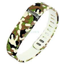 Camo 2 Size Replacement Wrist Band Clasp for Fitbit Flex Bracelet No Tracker