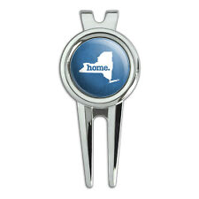 New York NY Home State Golf Divot Repair Tool and Ball Marker