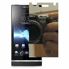 For Sony  XPERIA S LT26i Mirror Screen Protector LCD Phone Cover