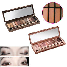 NEW 12 COLORS MAKE UP NEUTRAL WARM URBAN EYESHADOW PALETTE NUDE EYE SHADOW