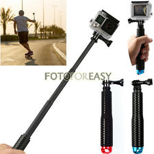 Extendable Selfie Telescopic Stick Pole Monopod For GoPro Hero HD 2 3 3+4 SJ4000
