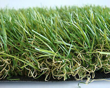 New Artificial Lawn Synthetic Turf Fake Grass Rubber Backed With Drainage Holes
