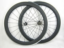 23mm width 60mm clincher 700c carbon fiber bike wheelset,bike wheels alloy brake