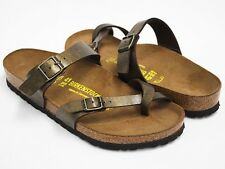 NEW BIRKENSTOCK MAYARI WOMEN SANDAL GOLDEN BROWN BRIKO FLOR AUTHENTIC 71041