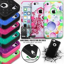 FOR APPLE IPHONE 5C TUFF DUAL LAYER SHOCKPROOF IMPACT ARMOR PHONE CASE COVER