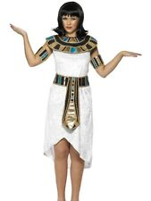 Ladies Egyptian Lady Fancy Dress Costume Cleopatra Outfit White by Smiffys