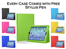 Magnetic Premium PU Leather Smart Stand Case Cover Pouch For Apple iPad 5 Air UK