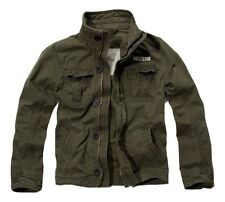 Mens HOLLISTER By Abercrombie Stones Steps Military-Style Jacket OLIVE GREEN S M