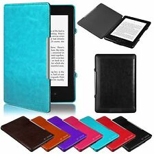 PREMIUM ULTRA SLIM LEATHER CASE COVER FOR AMAZON KINDLE 4 4TH + FREE PROTECTOR