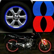 HOT 18 Strips Wheel Sticker Reflective Rim Stripe Tape Bike Motorcycle Car Tape