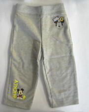 Boys mickey Mouse joggers pants trousers BNWOT 12/18 months
