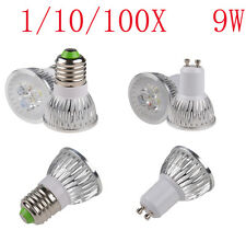 GU10 E27 LED light CREE 9W Power 3X3W Home ceiling Spotlight Lamp Bulb white