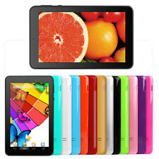 "Kocaso 7"" Tablet Quad Core Dual Camera Android 4.4 8GB 13 Colors +Keyboard Case"