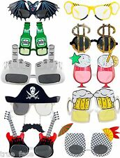 New Unisex Hawaiian Novelty Hula Funny Fancy Dress Costume Hen Party Sunglasses