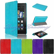 "For Amazon 2014 Kindle Fire HD 7"" Flip Slim Leather Stand Cover Case Wake/Sleep"