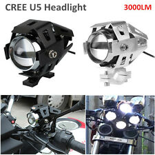 2x Bright Cree U5 3000LM Led Driving Fog Light Motorcycle Headlamp Bombilla