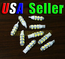 12V Low Voltage T10/T5 Wedge Base Cool White LED Malibu Replacement Light Bulbs
