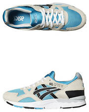 New Asics Men's - Gel Lyte V Trainers Lace Mesh Leather Mens Shoes Blue