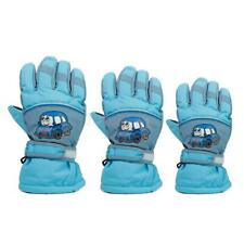 Boys Kids Youth Girls Winter Ski Snow Gloves Waterproof Fleece Themal Warm Sport