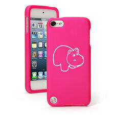 For Apple iPod Touch 4th 5th 6th Rubber Hard Case Cover Baby Hippo