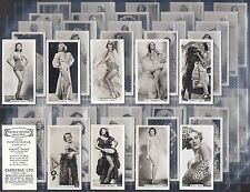 CARRERAS - FILM & STAGE BEAUTIES F54 (NUMBERS 01-25) - PLEASE SELECT YOUR CARD.