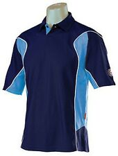 "HUNTS COUNTY MENS NAVY/BLUE CRICKET TOP BNWT SIZE SMALL 34/36"" ONLY £24"