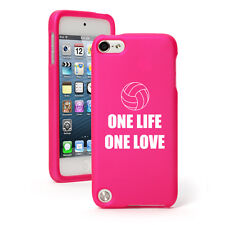 For Apple iPod Touch 4th 5th 6th Rubber Hard Case Cover One Life Volleyball