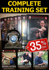 Self-Defense DVD Video Training - Russian Martial Arts 20 DVDs of Close Combat