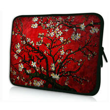 "Red Flower 13"" 13.3"" Soft Neoprene Laptop Case Notebook Bag Pouch Cover Sleeve"