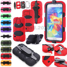 Military Rugged Combo Shockproof Belt Clip Case for Samsung Galaxy S3/S4/S5/S6
