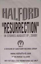 Rob Halford Bruce Dickinson Resurrection Promo Cassette New Sealed