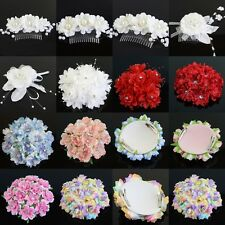 New Flower Hair Clip Barrette Pin Comb Headwear Bridal Prom Party Hair Accessory