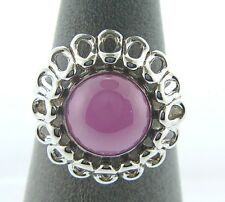 KR021 SIZE 6 NEW AUTHENTIC KAMELEON STERLING SILVER DAHLIA RING