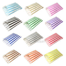 CANDY STRIPE PAPER SWEET GIFT PARTY BAGS 5 X7INCHES PICK N AND MIX All COLORS