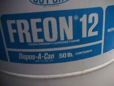 R-12 Freon Refrigerant by DuPont - Sealed - NOS 50 pounds - Unopened & Full