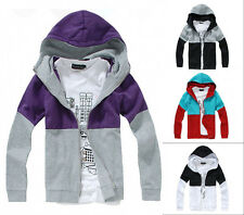 New Fashion Mens Casual Zip Up Slim Hoodies Coat Jacket Sweatshirt Outwear Coat