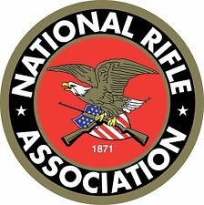 NRA National Rifle Association Gun Rights 2nd Amendment Vinyl Sticker Decal LOGO