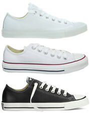 Converse White Leather CT Low Top OX Chuck Taylor All Star #1T866