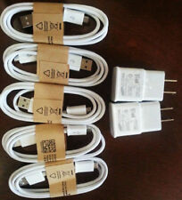 ORIGINAL Micro USB Data Cable Home Wall Charger For Samsung Galaxy S4 S3 NOTE 2