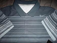 NIKE TENNIS GOLF DRI-FIT ROGER FEDERER NADAL STYLE POLO SHIRT XL L MENS NWT